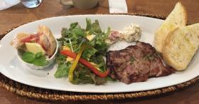 バウムクーヘン屋さんでお肉ランチを食べるのです GARBA CAFE本店(みなかみ町)