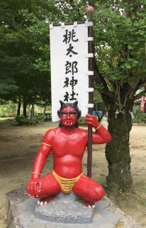 鬼才・浅野祥雲先生による夢の桃太郎ランド 桃太郎神社(犬山市)