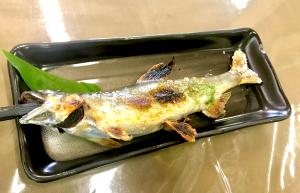 夏の海なし県といえば、やはり鮎!焼いて煮てからの雑炊!   鮎や(岐阜県関市)